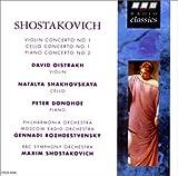 ショスタコーヴィチ : ヴァイオリン協奏曲 第1番