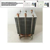 サーバーファン クーラー ML150 G9 ML350 G9 CPU ヒートシンク 780977-001、769018-001 サーバー用
