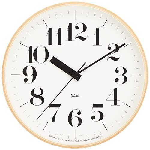 RoomClip商品情報 - Lemnos RIKI CLOCK RC 電波時計 WR07-11