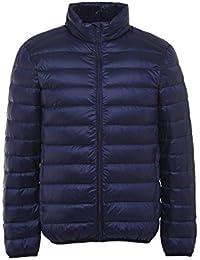 メンズ ダウンジャケット250g 超軽量 ライト ダウン ジャケット 防寒 防風 暖かい ウルトラライト コート 通勤 カジュアル 登山 アウター 便利な収納袋付き