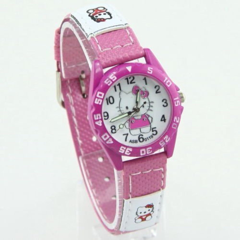 Hello Kitty – スーパーキュートなスポーツスタイル腕時計