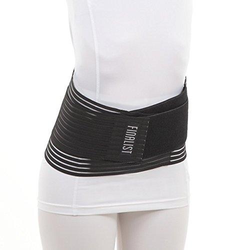 FINALIST 腰痛ベルト 腰痛 コルセット オール メッシュ ハードフィットベルト (L)