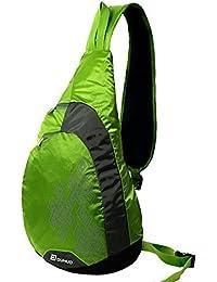 Duhud 15L スリングバッグ 軽量 防水 ワンショルダーバッグ 斜めがけバッグ ボディバッグ メンズ レディース iPad 雑誌収納可 D010888