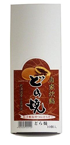 津具屋製菓 どら焼き 1個×10袋