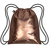LOQI LQB3-MMRO Metallic Matt Rose Gold Backpack, Rose Gold, L Capacity