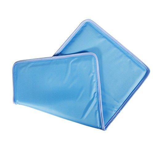 Kingstar ひんやり枕 クールマット枕 ひんやりジェルマット 枕パッド 30*55cm ソフトジェルクールパッド 敷...