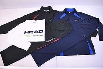 HEAD ヘッド メンズ スポーツウェア オールシーズン対応福袋 ウィンドブレーカー上下とジャージ上下と長袖T入り Mサイズ