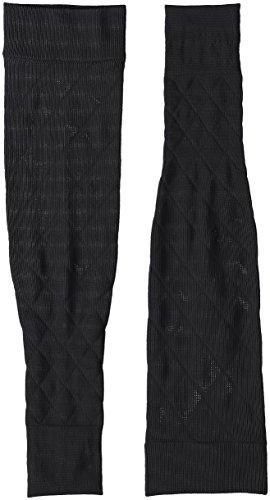 クツシタサプリ 靴下サプリ 二の腕着圧すっきりアームカバー X737-990 ブラック M