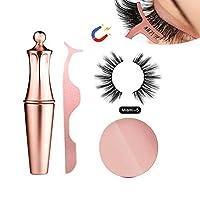 Fashionwu 液体アイライナー 5つ磁気つけまつげセット 防水 汗止め 高速乾燥 使い易い 長持ち 初心者 美容院 化粧品
