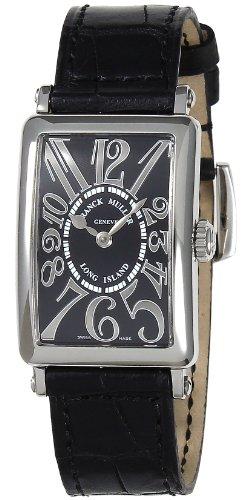 腕時計 ロングアイランド 902 QZ REL BLK レディース フランク・ミュラー