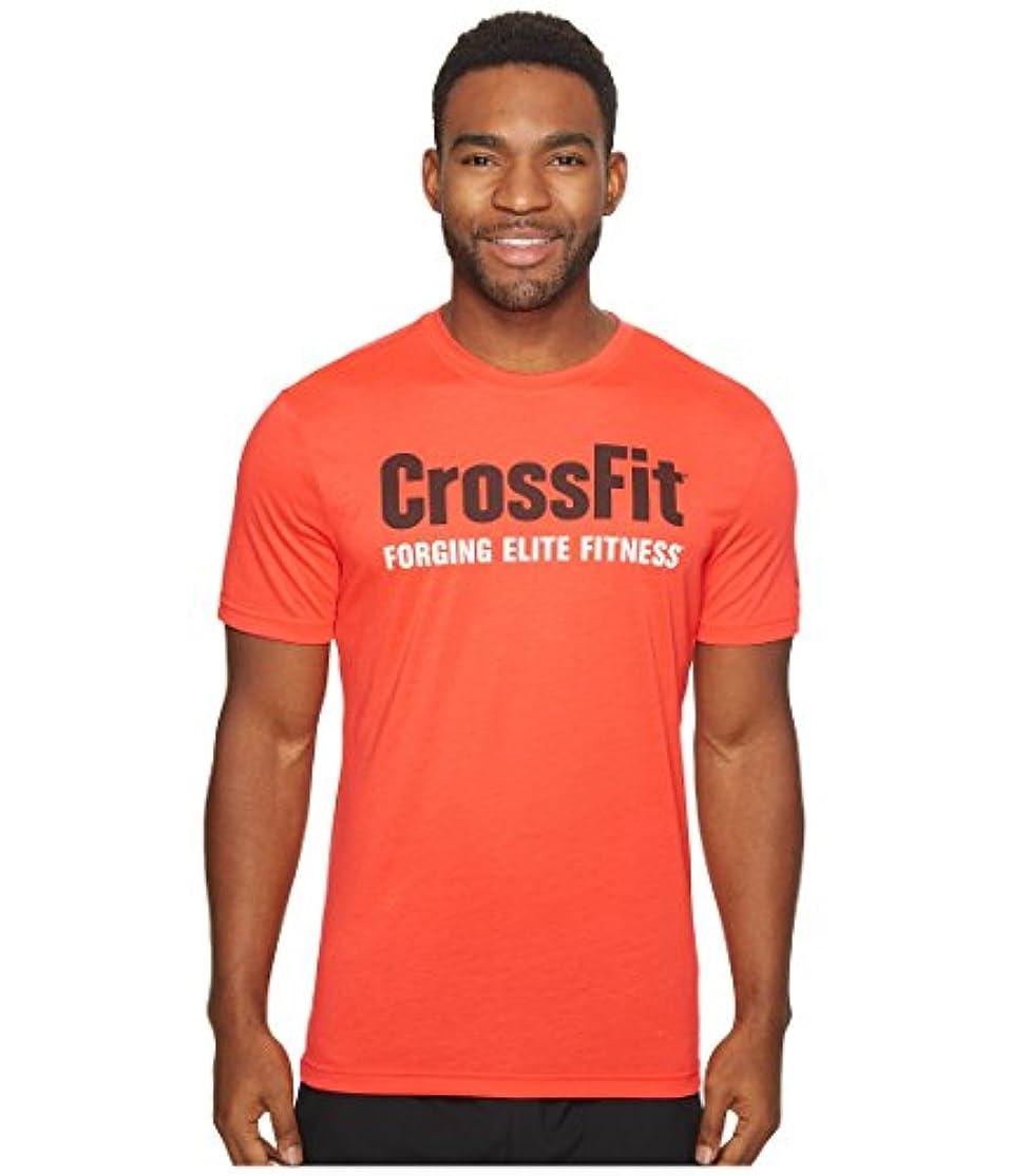 不器用ノベルティファシズムリーボック トップス シャツ CrossFit Forging Elite Fitness Tee Glow Red sfz [並行輸入品]