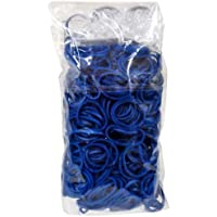 Rainbow Loom Offical Navy Blue 600pc Refill Bands w/ C Clips