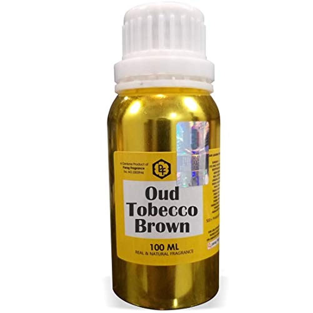 深さ期間労働者ParagフレグランスウードTobeccoブラウンアター100ミリリットル(男性用アルコールフリーアター)香油| 香り| ITRA