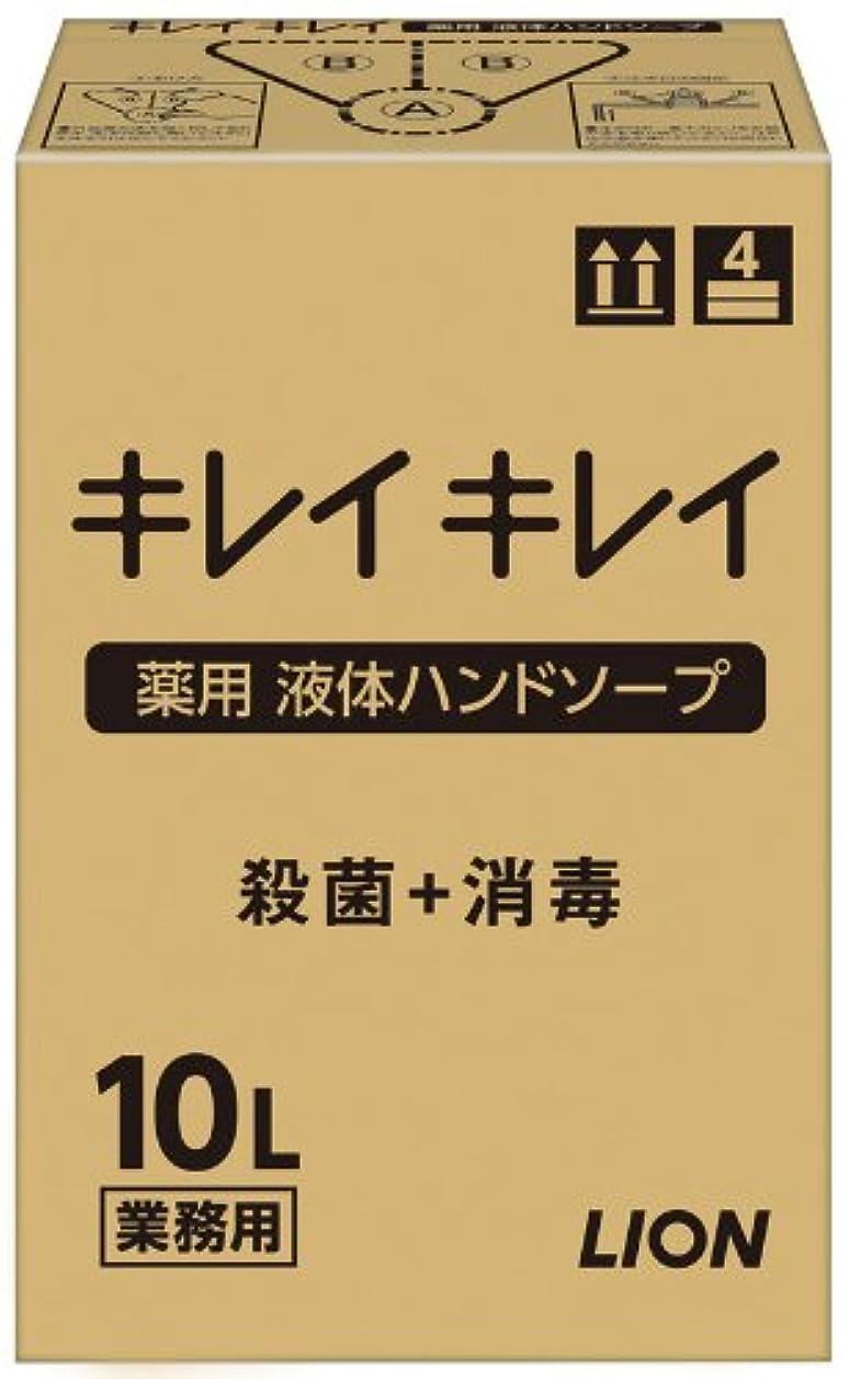 適度にテメリティ反発する【大容量】キレイキレイ 薬用ハンドソープ10L