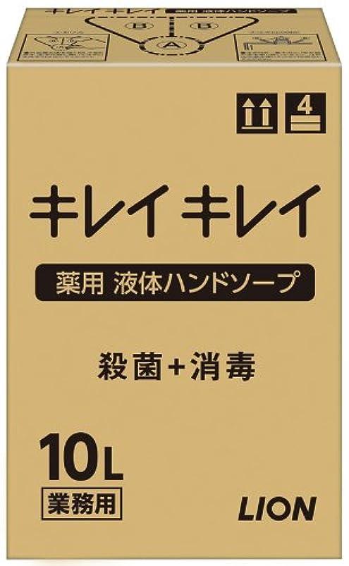 満足させる固める打撃【大容量】キレイキレイ 薬用ハンドソープ10L