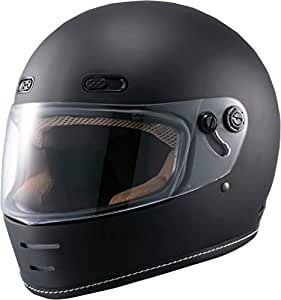 マルシン(MARUSHIN) バイクヘルメット ネオレトロ フルフェイス END MILL (エンド ミル) マットブラック Mサイズ MNF1 2001324