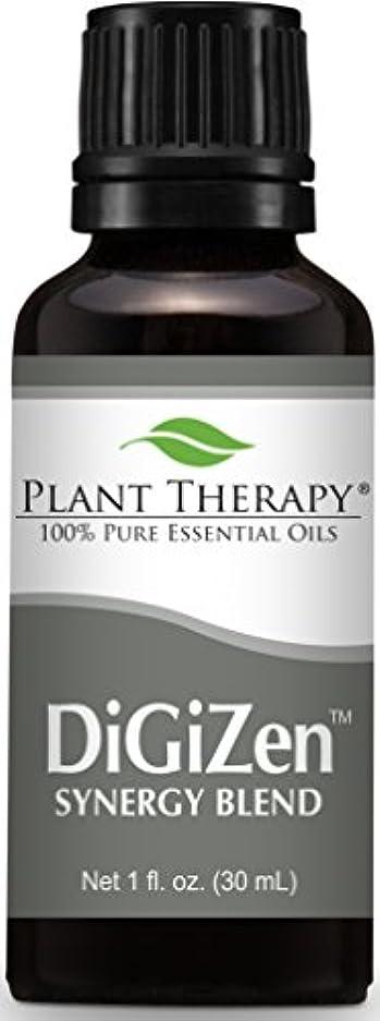 100%ピュアDiGiZenシナジーエッセンシャルオイルブレンド30ミリリットル(1オンス)、治療グレード