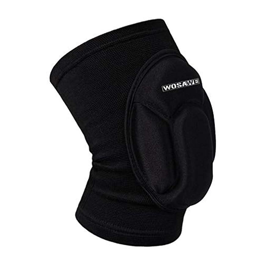 アコード金貸し視線WOSAWEアンチストレス膝パッドBC317を実行している屋外サイクリングスポーツフィットネス-Rustle666