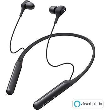 ソニー SONY ワイヤレスノイズキャンセリングイヤホン WI-C600N : Bluetooth対応 / 高音質モデル / apt-x対応  2019年モデル ブラック WI-C600N BM