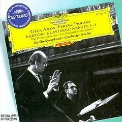 アンダ(P) フリッチャイ指揮 バルトーク ピアノ協奏曲全集の商品写真