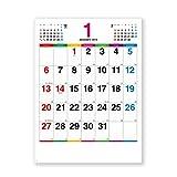 最安|評価は?新日本カレンダー 2019年 カラーラインメモ カレンダー 壁掛け NK174 (2019年 1月始まり)