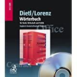 Dictionary of Legal, Commercial and Political Terms, English-German, German-English