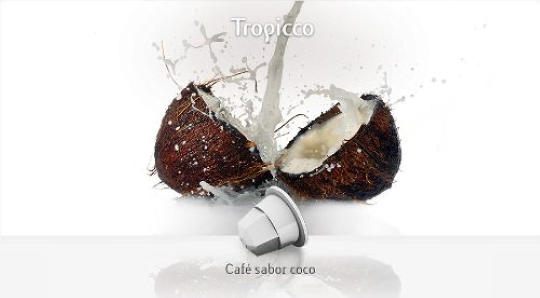Nespresso (ネスプレッソ) 互換性のある Arabica & COCONUT (アラビカ&ココナッツ) 10個×4=40個 - 並行輸入品