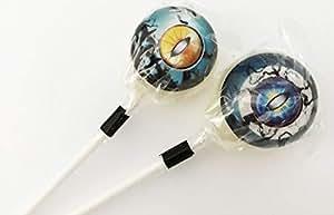Lollipops Candy オカルトキャンディ 3D CREATURE EYES(ブラックベリー味) (2本セット)