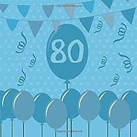 80: libro degli ospiti per il tuo compleanno