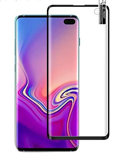 2枚セット Samsung Galaxy s10 Plus 強化ガラス 保護フィルム 液晶 ガラス フィルム Samsung Galaxy s10 Plus 対応 硬度9H 厚さ0.26 日本旭硝子素材AGC 気泡ゼロ 飛散防止 高感度 高透過率 衝撃吸収 指紋防止 ラウンドエッジ加工 Eustak (Samsung Galaxy s10 Plus)