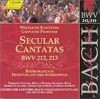 Secular Cantatas Bwv 212-213