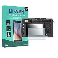 6x Mikvon ClearFujifilm X100T対応 画面保護フィルム アクセサリー付きのリテールパッケージ