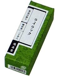 鳩居堂のお香 草花の香り ライラック 20本入 6cm