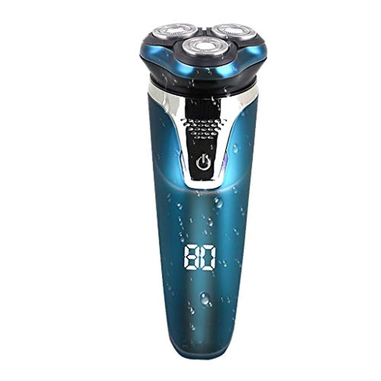 電気かみそり、人の防水スマートなLED表示コードレストリマー/速い充満を満たすこと