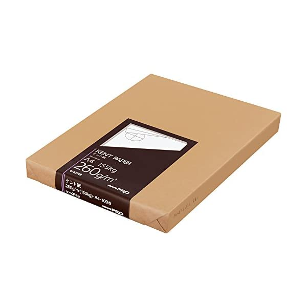 コクヨ ケント紙 A4 100枚 260g セ-...の商品画像