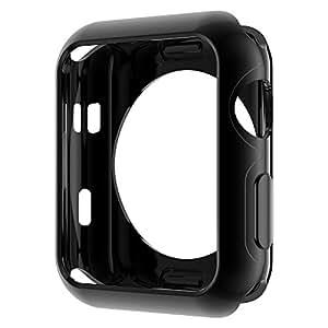 HOCO Apple Watch Series 3 / 2 ケース メッキ TPU ケース 耐衝撃性 超簿 脱着簡単 アップル ウォッチ シリーズ 全4色 ブラック 38mm