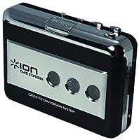 ION Audio USBケーブル付 ポータブル・カセットテーププレーヤー デジタル化変換器 録音ソフトウェアCD付 TAPE EXPRESS