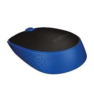 LOGICOOL ロジクール M170 2.4GHz ワイヤレスマウス 無線マウス ブルー M170BL 省エネルギー設計 超コンパクト アドバンス オプティカル トラッキングで高精度 2年間保証