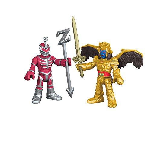 [휘셔 프라이스]Fisher-Price Imaginext Power Rangers Goldar and Lord Zedd Action Figure DFX63 [병행수입품]-DFX63