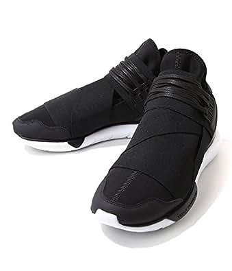 [ワイスリー] Qasa high (16SS)(カーサ ハイ スニーカー シューズ 靴 YOHJI YAMAMOTO adidas ) UK8.5 ブラック