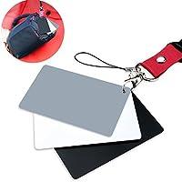 FOTYRIG グレーカード ホワイトバランス調整カード 標準露出18% カラーチェッカー 一眼レフ