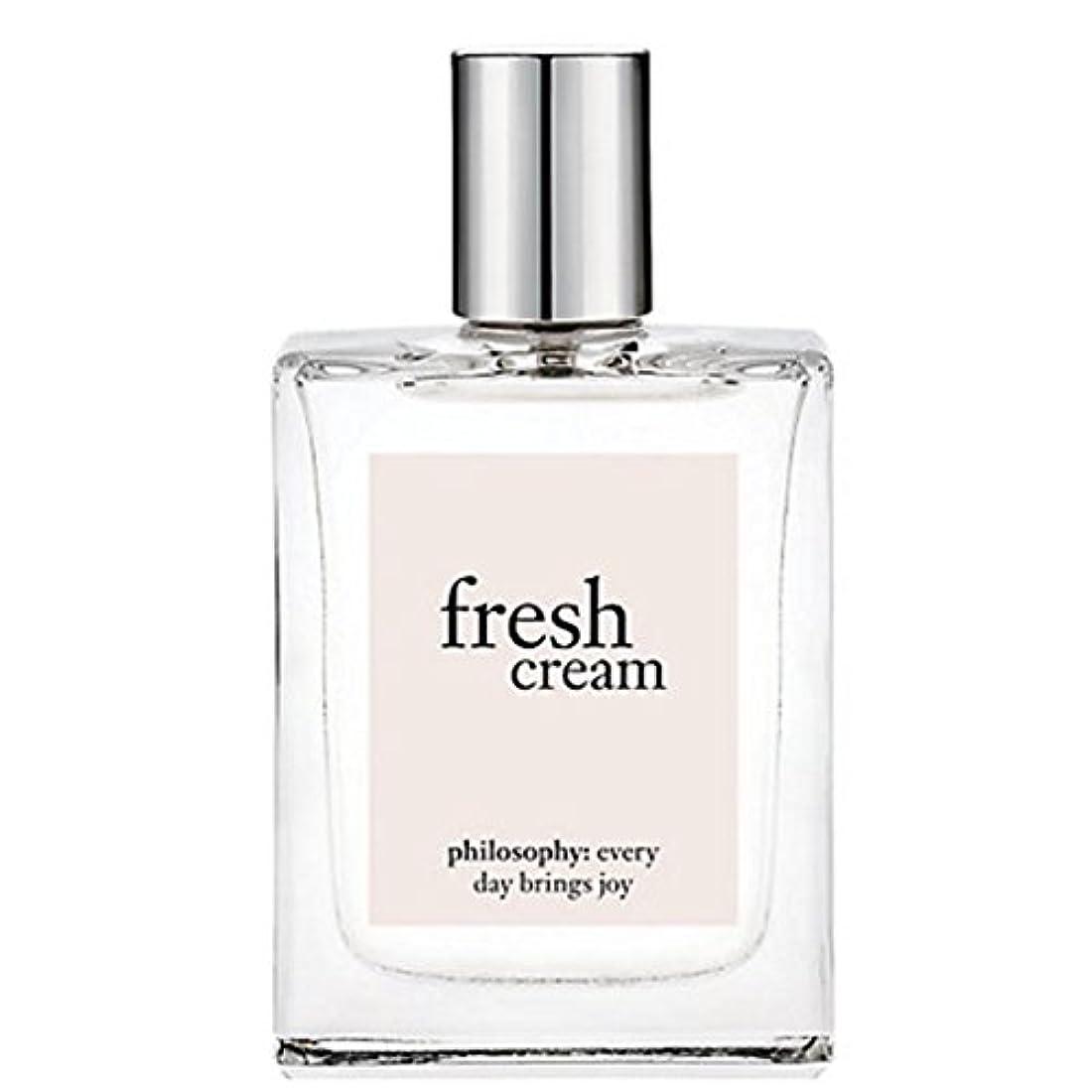 調和のとれた悲鳴控えめなphilosophy (フィロソフィー) Fresh Creamフレッシュクリーム オードトワレスプレー, 60ml for Women [海外直送品] [並行輸入品]