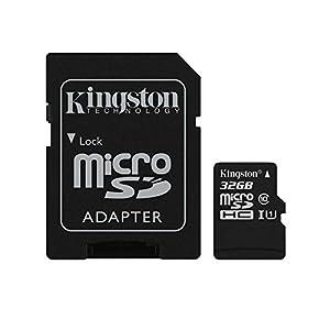 キングストン Kingston microSDHCカード 32GB クラス 10 UHS-I 対応 アダプタ付 SDC10G2/32GB 永久保証