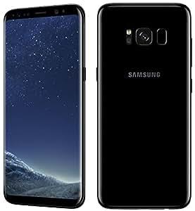"Samsung Galaxy S8+ Dual SIM版 (FACTORY UNLOCKED) 6.2"" 64GB Black SIMフリー 並行輸入品 日本未販売"