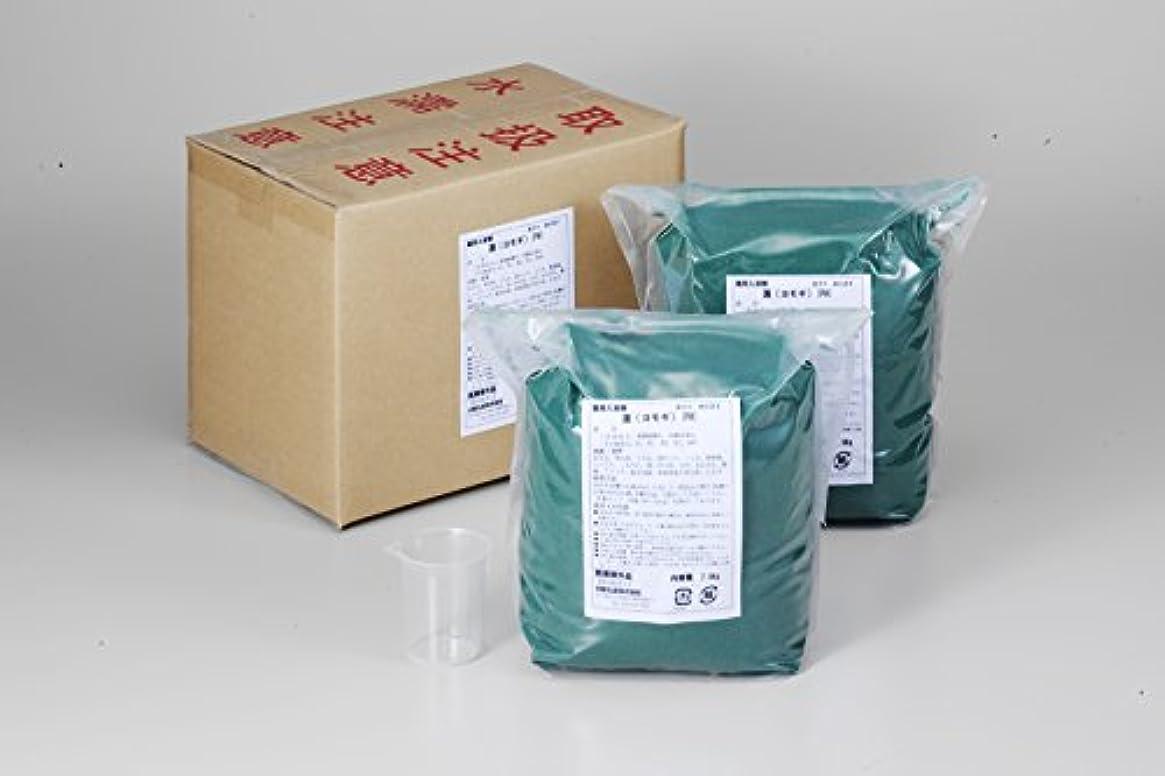 ファイバ蓮化粧業務用入浴剤「ヨモギ」15kg(7.5kg×2)