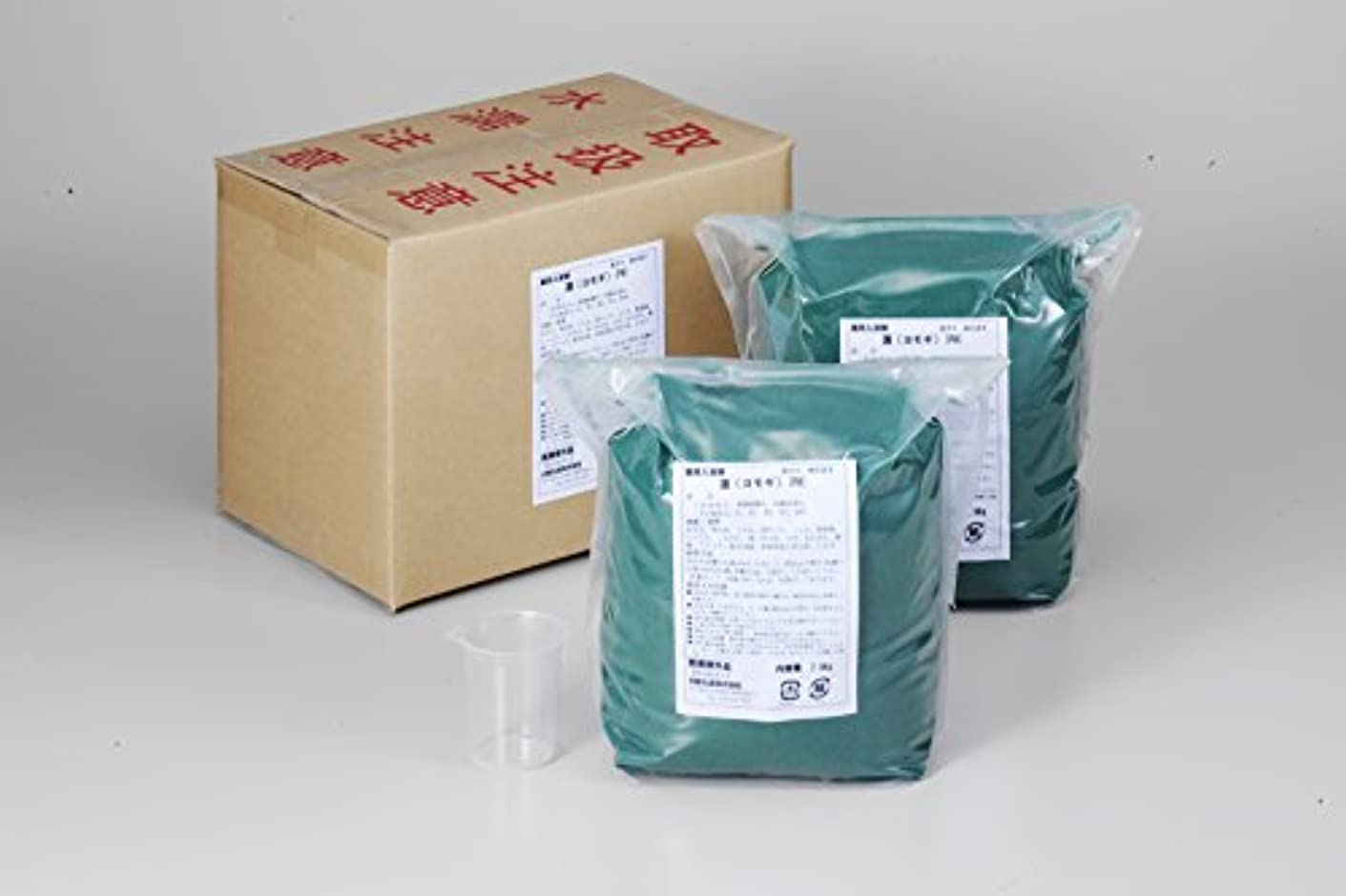 魅力的安心させる急流業務用入浴剤「ヨモギ」15kg(7.5kg×2)