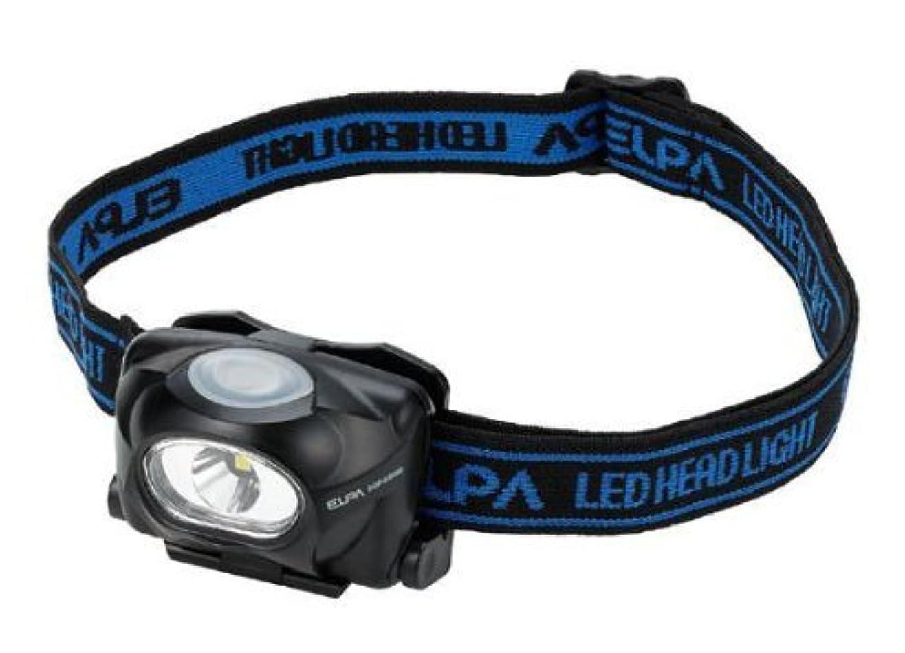 オペラ神学校ピッチャー(まとめ買い) ELPA LEDヘッドライト 50lm DOP-HD053 【×3】