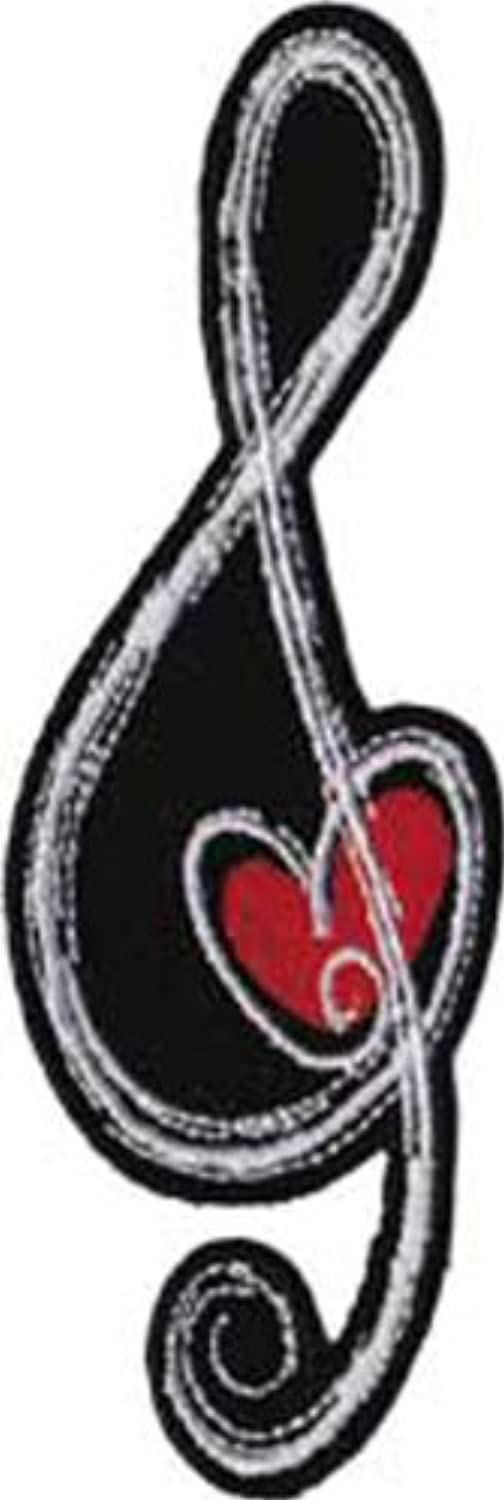 Application G-Clef Heart Patch