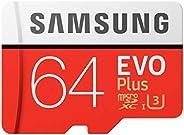 Samsung EVO Plus 64GB microSDXC UHS-I U3 100MB/s Full HD & 4K UHD Nintendo Switch 動作確認済 MB-MC64GA/ECO 国内正