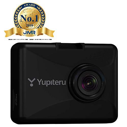ユピテル ドライブレコーダー DRY-ST6000d 200万画素 日本製 3年保証 Full HD/GPS/衝撃センサー/HDR/対角154.8° ロードサービス1年無料 東西LED式信号機対応 16GB microSD付属